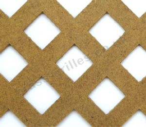 Cooden Diamond 20mm Unfinished MDF Decorative Screening Panel Sheet 1830mm x 610 mm x 4mm